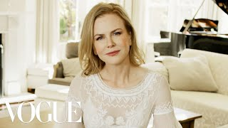 73 Questions With Nicole Kidman | Vogue