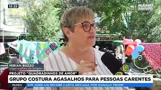 Band News no Festival de Inverno -  Projeto de Crochê em Serra Negra/SP