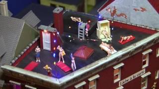 Das Rotlichtviertel in Wuppertal - Ein Modellbau Diorama in 1:87