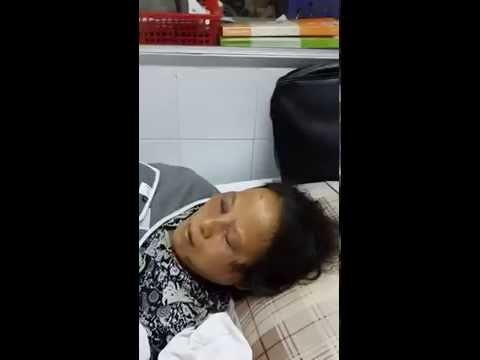 Bà Lê Thị Châm nói về việc bị máy xúc cán qua người tại Hải Dương.