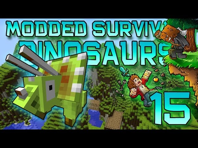 Minecraft: Modded Dinosaur Survival Let's Play w/Mitch! Ep. 15 - Until Next Time!