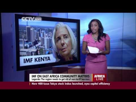 IMF chief speaks on EAC matters during her visit to Kenya