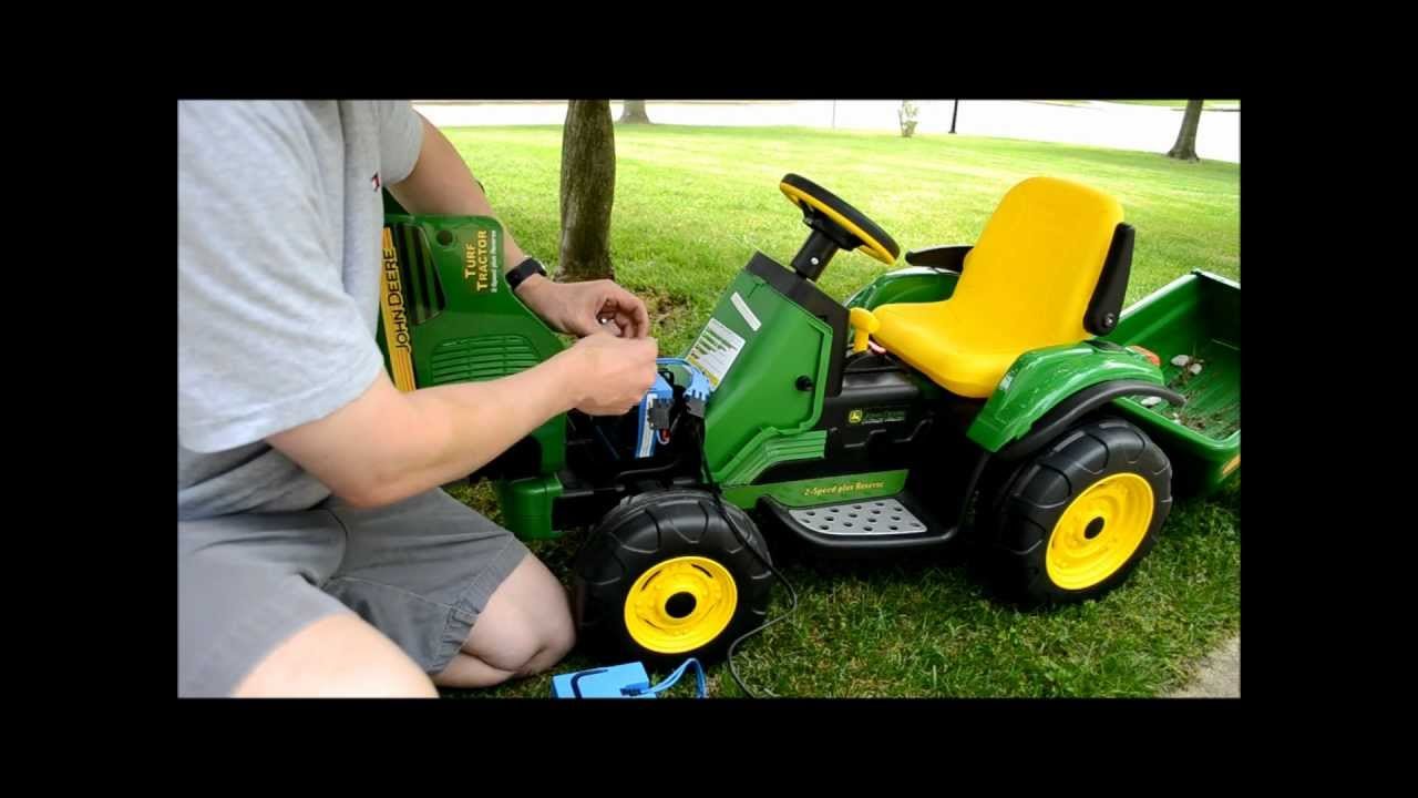 John Deere Peg Perego Battery