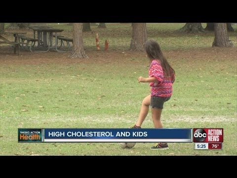 High cholesterol and kids
