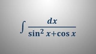Nedoločeni integral 17