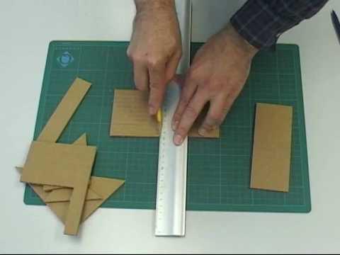 V01 tecnicas maquetas youtube - Como hacer una maqueta de una casa ...