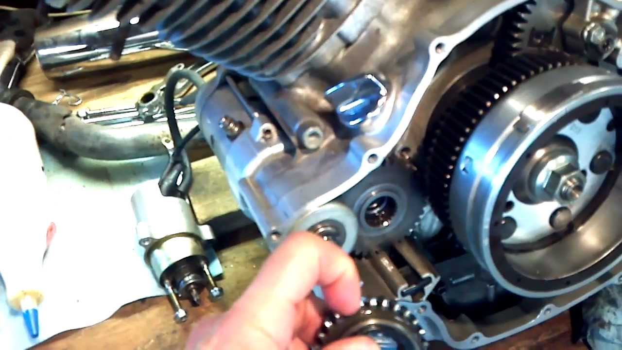 Yamaha Warrior  Starter Problems