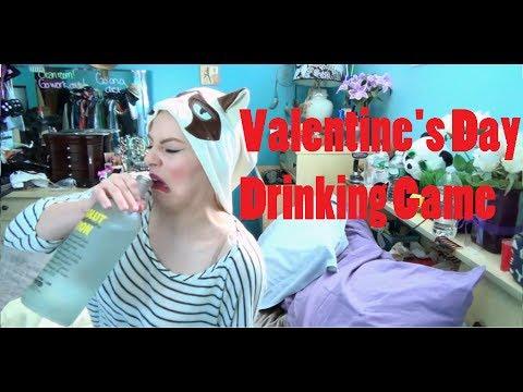 VALENTINE'S DAY DRINKING GAME!