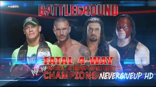 "WWE Battleground 2014 Official Theme Song ""Jungle"" Link"