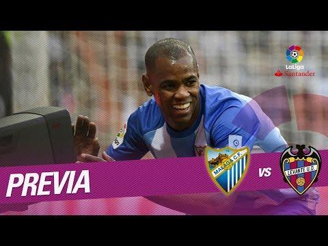 Previa Málaga CF vs Levante UD