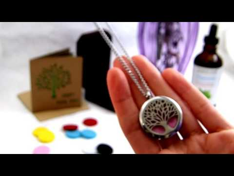 How to Use the Aromatherapy Essential Oils Diffuser Necklace By Idymar