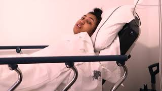 UNEDITED FOOTAGE OF ME WAKING UP FROM MY ANESTHESIA