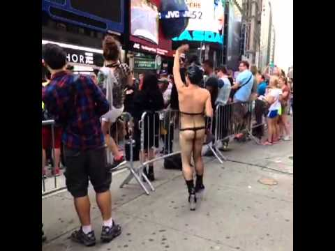 One of Lady Gaga's Little Monsters in NYC [Video from VINE] [2]