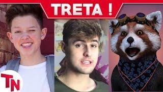 Youtuber leva soco de hater, RezendeEvil imita Fluffy do Treta News