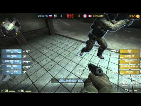 Fnatic FragOut - VeryGames vs Virtus.Pro