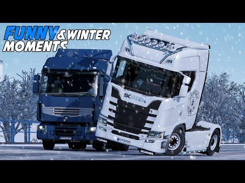 EP.#25 - Funny & Random Moments - Euro Truck Simulator 2