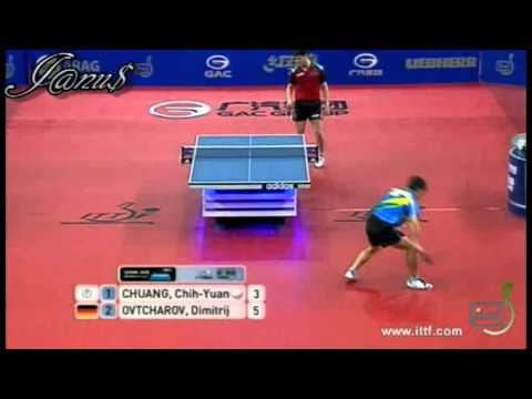 2012 German Open (ms-sf) CHUANG Chih-Yuan - OVTCHAROV Dimitrij [Full Match/Short Form]