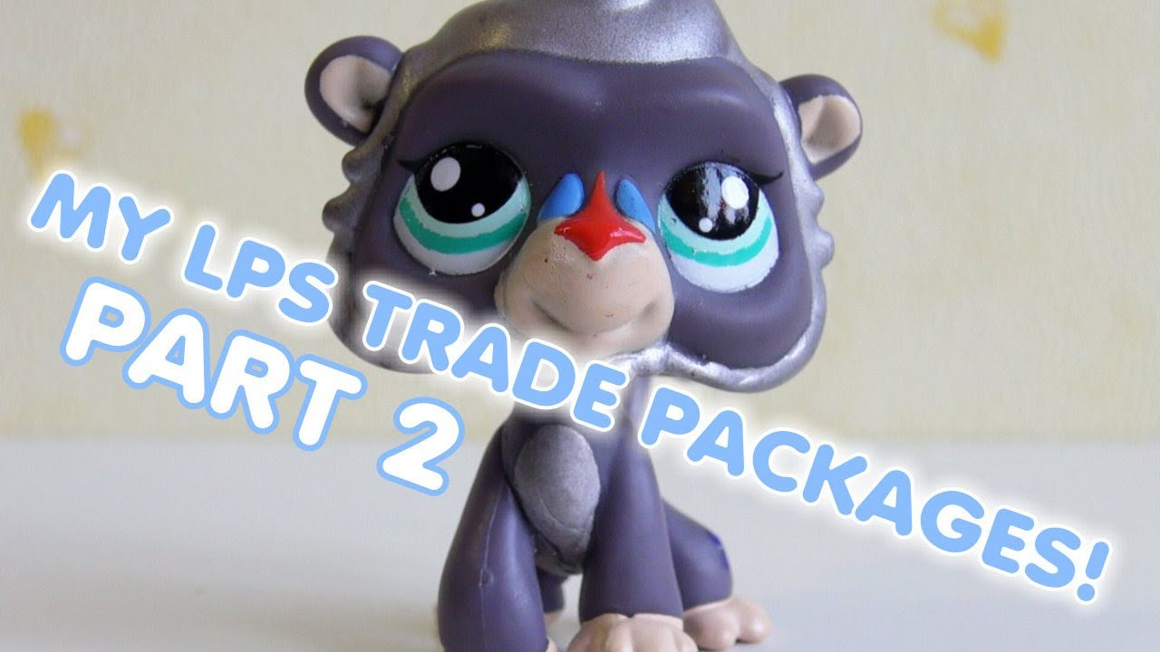 WHAT?! PART 2 REACTING TO LPS TRADING CARDS! - YouTube