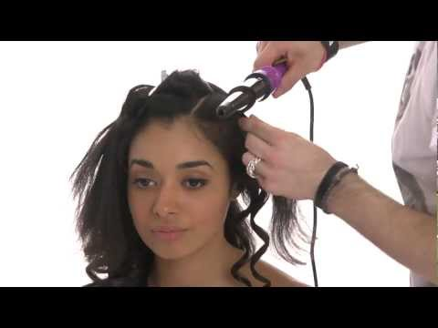 Mash Up Tutorial - Capelli ricci con una piastra per capelli Creative Iron