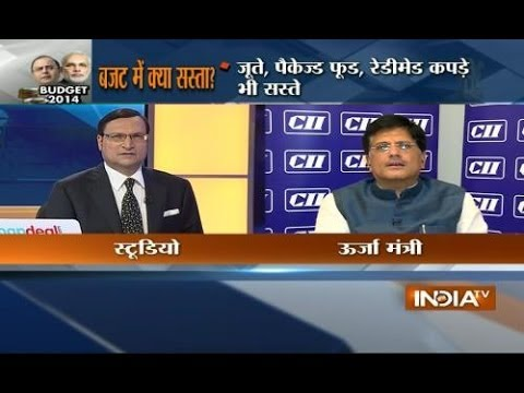 Power Minister Piyush Goyal speaks with India TV exclusively on Budget