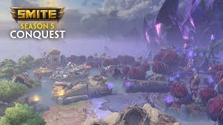 SMITE - Map Reveal: Season 5 Conquest