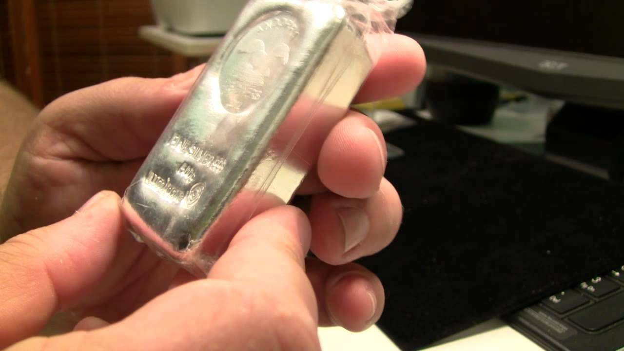 Silver Unboxing Umicore 500g Poured Bar Youtube