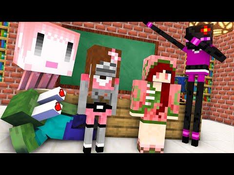 Monster School : BREWING GIRL Challenge - Minecraft Animation