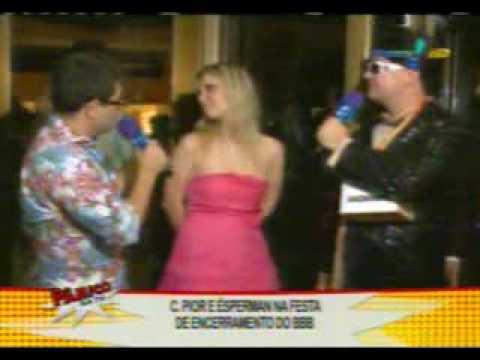 Ana Carolina Madeira no Pânico na Tv - 12/04/09