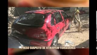 Preso suspeito de atirar cotnra torcida do Alt�tico ferindo quatro pessoas