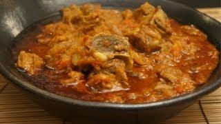 ስጋ ወጥ - Ethiopian Beef & Tomato with Berbere & Mitmita Recipe Injera