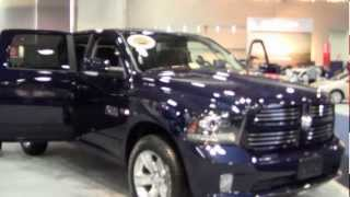 2014 DODGE RAM 1500 SPORT IN 2013 WASHINGTON DC AUTO SHOW