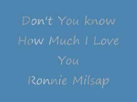 much but i know i love you lyrics: