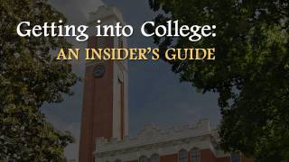 Insider's guide to admissions