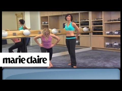 Jedna vežba zateže stomak, noge i guzu