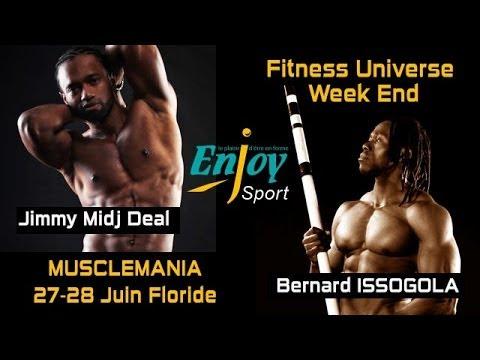 Bernard ISSOGOLA & Jimmy Midj Deal - Musclemania Floride - Juin 2014