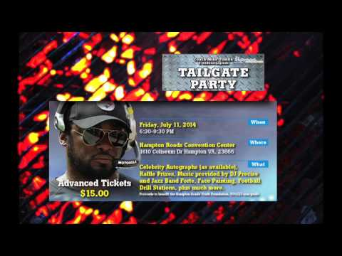 6th Annual Gridiron Legends Tailgate Hosted by Coach Mike Tomlin