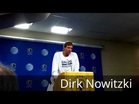2013-14 Dallas Mavericks Talk About Upcoming Season