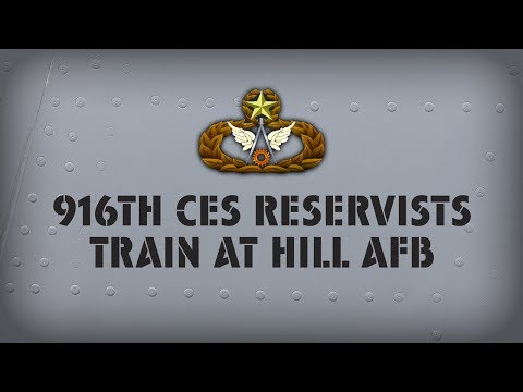 916th Firefighting Training