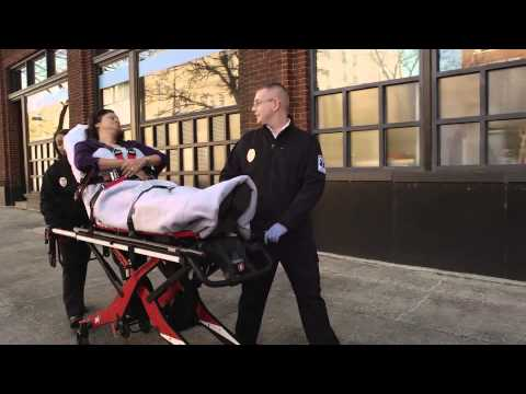 Ferno's self-loading stretcher eases load on EMTs