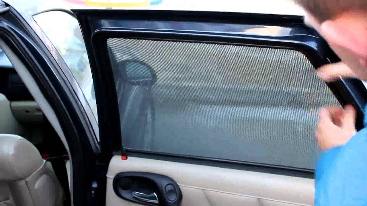 Фото шторки в автомобиль своими руками