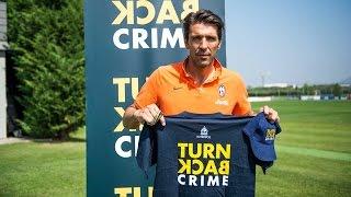 La Juventus sostiene la campagna Turn Back Crime - Juventus join Turn Back Crime campaign