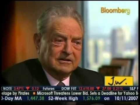George Soros Interview with Judy Woodruff on Bloomberg TV