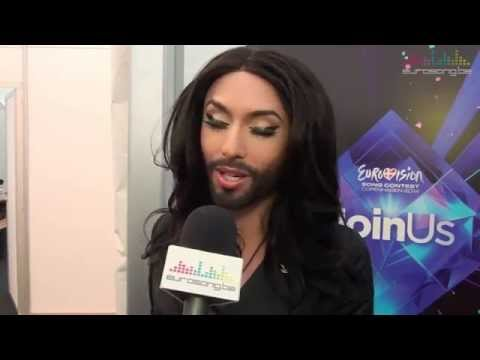 Interview Conchita Wurst in Copenhagen (Eurovision 2014 Austria)