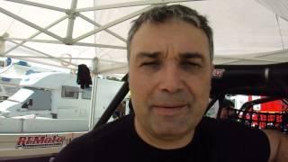 Intervista a Graziano Scandola (Can Am) alla Baja Ungheria.