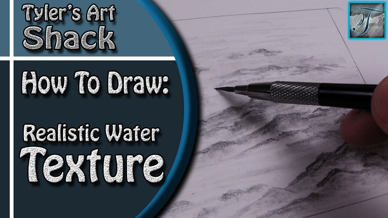 how to draw ocean water