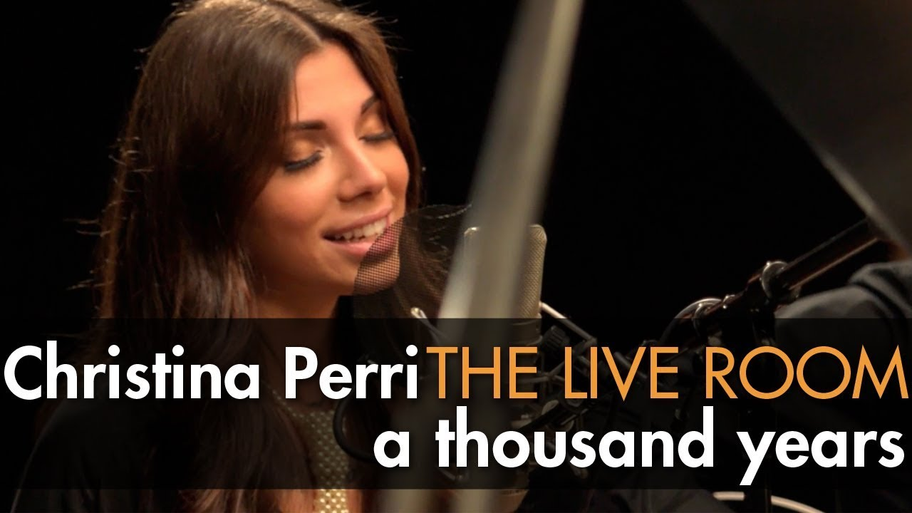 Perri quot a thousand years quot captured in the live room youtube
