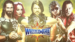 WrestleMania 33 - Dream Match Card