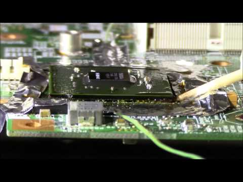 HP Pavilion DV6000 Professional Nvidia GPU Graphic Replacement BGA Fix
