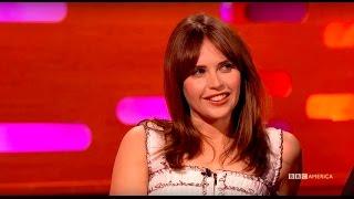 Felicity Jones On Her First Nerd Tattoo - The Graham Norton Show