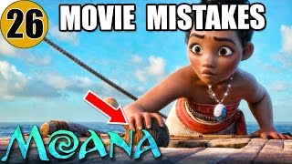 26 Mistakes of MOANA You Didn't Notice